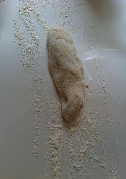 on flour