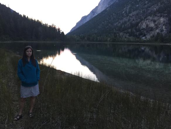 Amanda at Turquoise Lake.